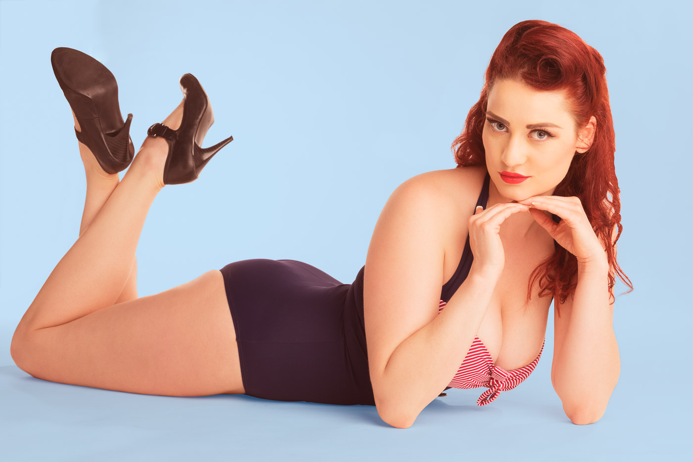 Pin Up Fotos Portrait -