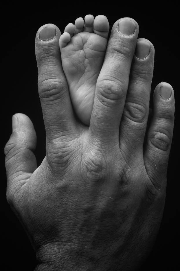 Hand and Foot Neugeborenenfotografie
